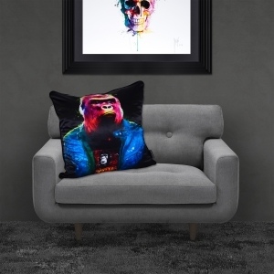 Patrice Murciano Rock 'n' Kong Luxury Feather Filled Cushion | 55cmx 55cm
