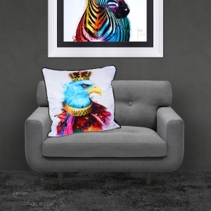 Patrice Murciano Royal Eagle Luxury Feather Filled Cushion | 55cmx 55cm