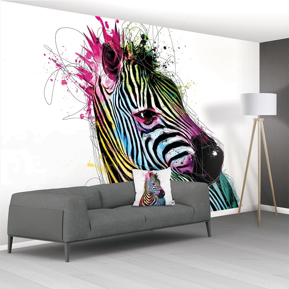 archive by wall mural home design inspirations zebra wall murals