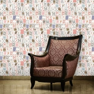 Playing Cards Games Room Collage Wallpaper 53cm x 1005cm