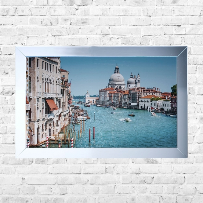 SHH Interiors Saint Paul's Cathederal Venice Framed Liquid Artwork and Swarovski Crystals