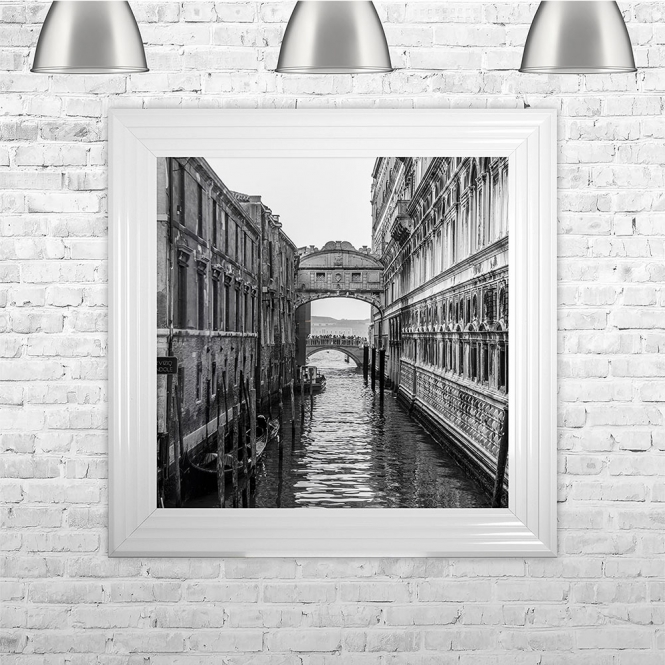 SHH Interiors Black and White Venice | 75cm x 75cm