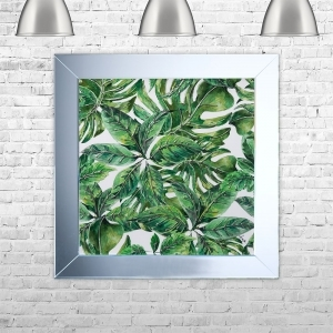 JUNGLE 1 Framed Liquid Artwork | 75cm x 75cm