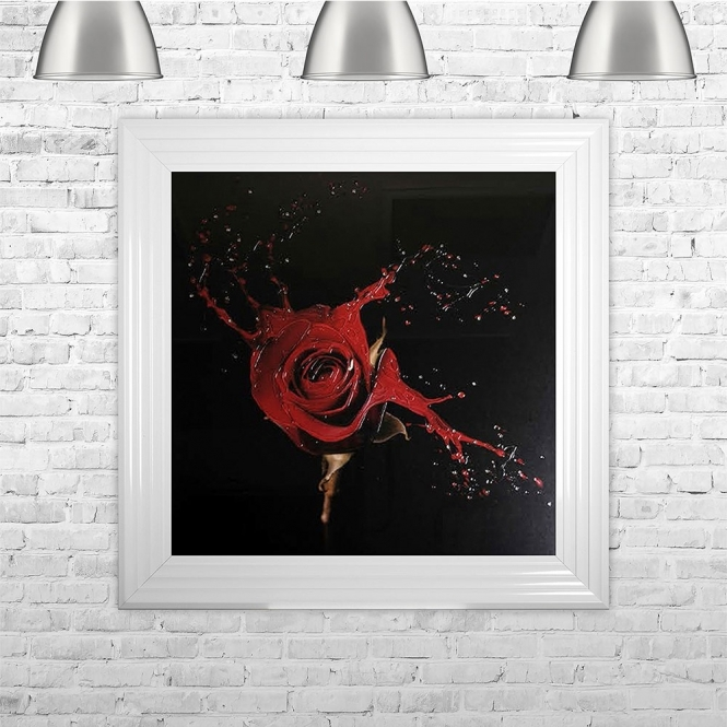 SHH Interiors Shattered Liquid Rose | 75cm x 75cm