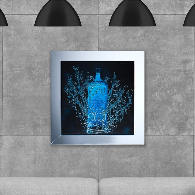 SHH Interiors SHH Bottle Gin Framed Artwork