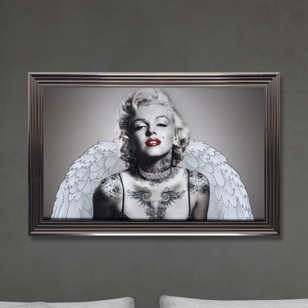 Shh interiors shh marilyn angel wings print framed artwork from shh interiors shh marilyn angel wings print jeuxipadfo Image collections