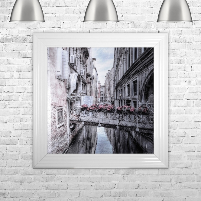 SHH Interiors Venice 1 Liquid Art With Swarovski Crystals | 75cm x 75cm