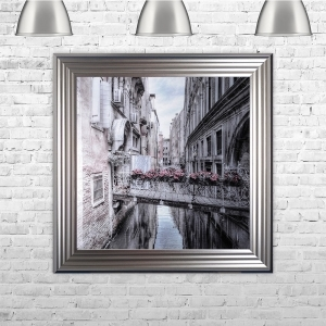 Venice 1 Liquid Art With Swarovski Crystals | 75cm x 75cm