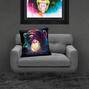 Patrice Murciano Licensed 55cm Luxury Feather Filled Cushion - DARWIN PREOCCUPATIONS