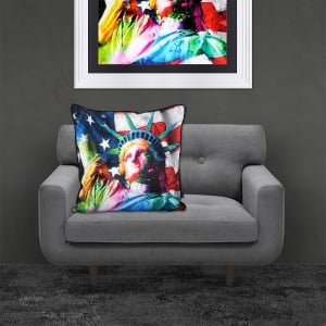 Patrice Murciano Licensed 55cm Luxury Feather Filled Cushion - LIBERTY