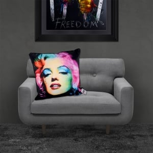 Patrice Murciano Licensed 55cm Luxury Feather Filled Cushion - MARILYN 2 'MARILYN MONROE'