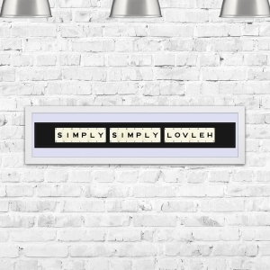 Simply Simply Lovleh Framed Playing Cards
