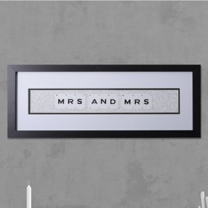 "Hand made ""MR AND MRS"" Quote with Vintage Playing Cards 