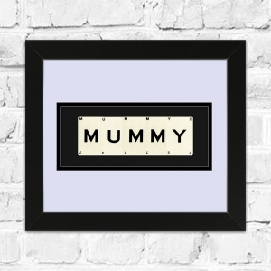 MUMMY Framed Playing Cards
