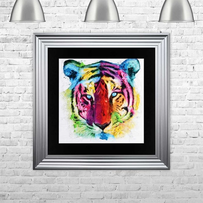 TIGER FRAMED WALL ART