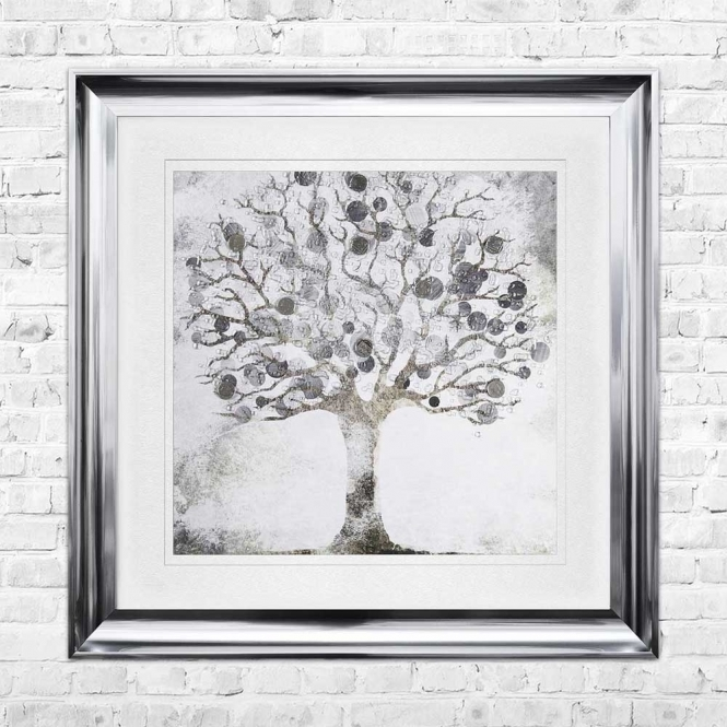 TREE G Wall Art | 90cm x 90cm