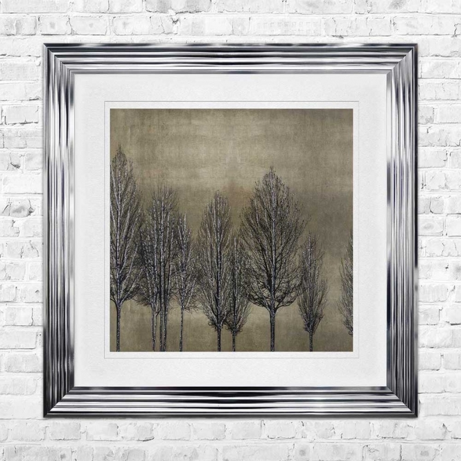 TREE LINE GOLD 2 Wall Art | 90cm x 90cm