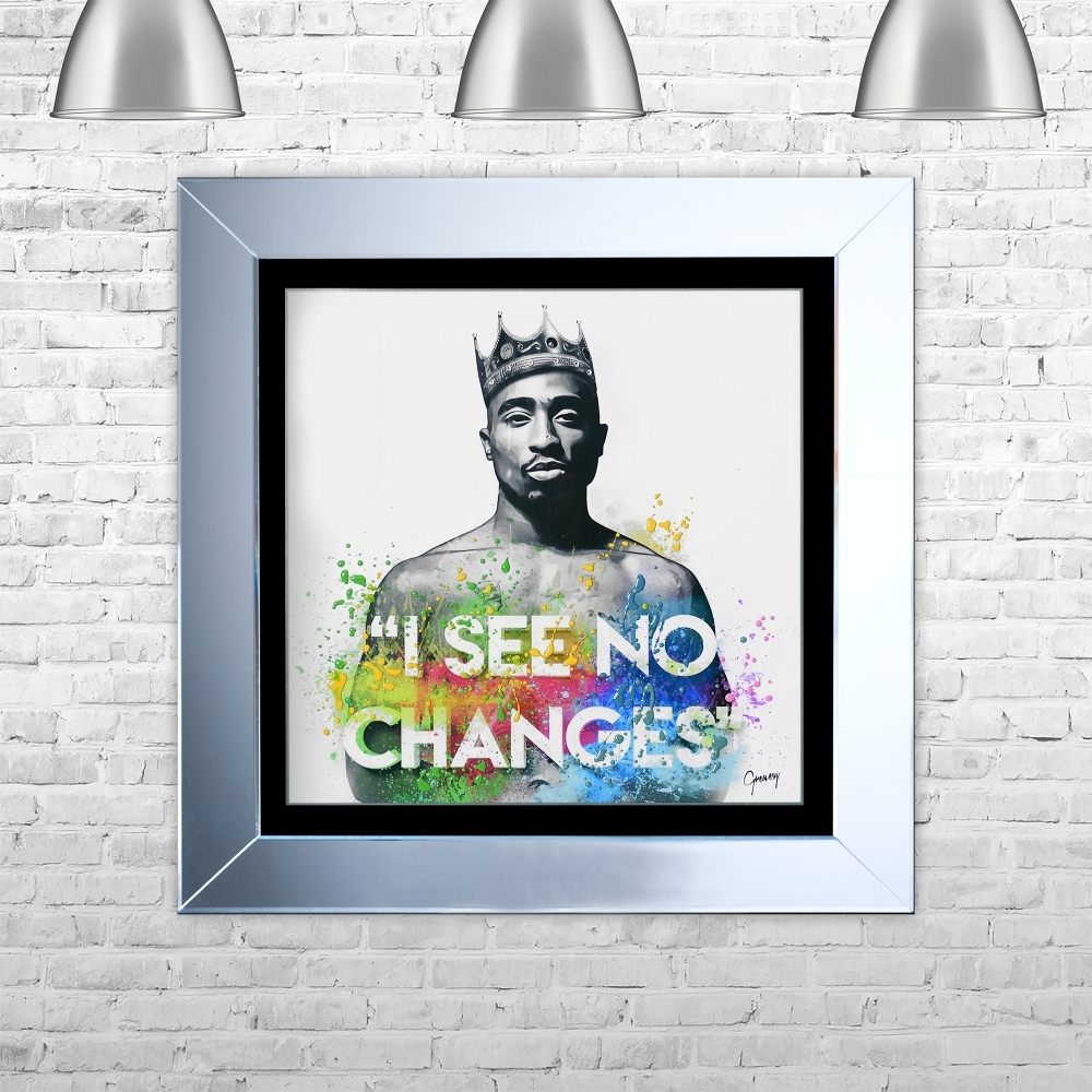 greavesy tupac changes art framed liquid artwork and swarovski tupac changes art framed liquid artwork and swarovski crystals